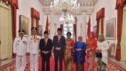 Presiden Lantik Emil-Uu di Istana Negara