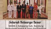 Ucapan Selamat Atas Dilantiknya RIdwan Kamil Sebagai Gubernur Jabar Dari SMAN 1 Katapang Kab Bandung