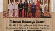 Ucapan Selamat Kepada Ridwan Kamil Sebagai Gubernur Jabar Dari SMAN 1 Margahayu