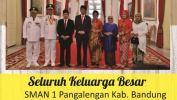 Ucapan Selamat Kepada Ridwan Kamil Sebagai Gubernur Jabar Dari SMAN 1 Pangalengan