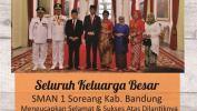 Ucapan Selamat Kepada Ridwan Kamil Sebagai Gubernur Jabar Dari SMAN 1 Soreang Kab. Bandung