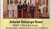 Ucapan Selamat Atas Dilantiknya Ridwan Kamil Jadi Gubernur Jabar Dari SMKN 7 Kota Bandung