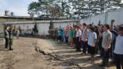 Direktur dan Karyawan Pabrik PT Trigunawan Laksanakan Sanksi Sosial