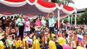 Gedung Sate Rayakan Angklung's Day 2018 Pecahkan Rekor
