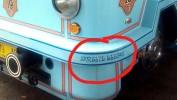 Aksara Sunda Di Bus Bandros Bertahun-Tahun Dibiarkan Salah