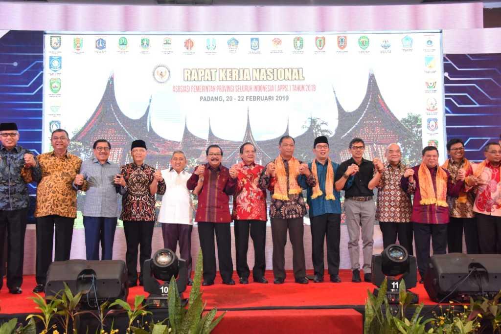 Rakernas APPSI, Ridwan Kamil Ungkap Dua Peluang Kerjasama Antar Provinsi