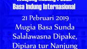 SMAN 16 Kota Bandung Mieling Poean Basa Indung Internasional 2019